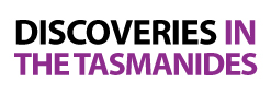 Discoveries In The Tasmanides-Logo